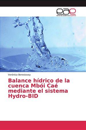 Balance hídrico de la cuenca Mbói Caé mediante el sistema Hy