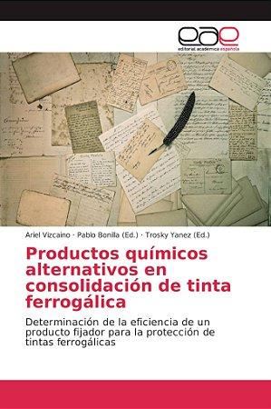 Productos químicos alternativos en consolidación de tinta fe