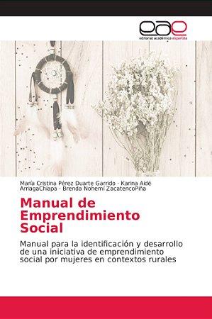 Manual de Emprendimiento Social