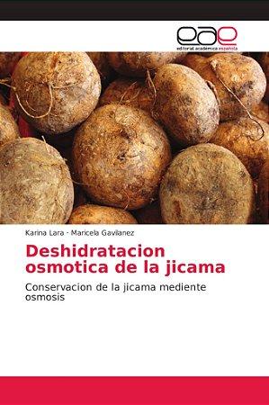 Deshidratacion osmotica de la jicama