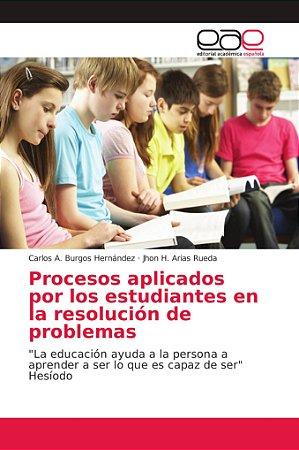 Procesos aplicados por los estudiantes en la resolución de p