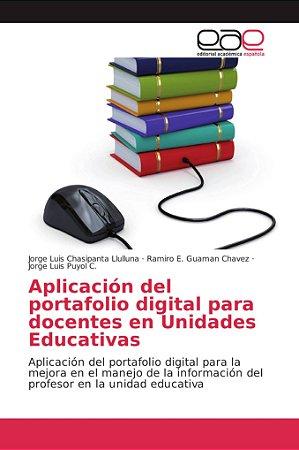 Aplicación del portafolio digital para docentes en Unidades
