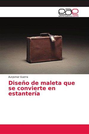Diseño de maleta que se convierte en estantería