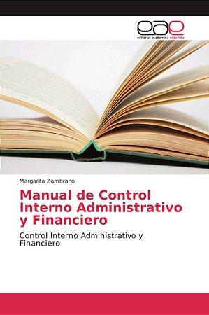 Manual de Control Interno Administrativo y Financiero