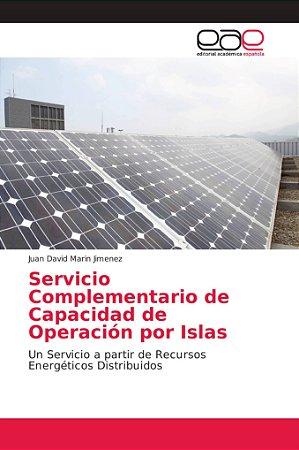 Servicio Complementario de Capacidad de Operación por Islas