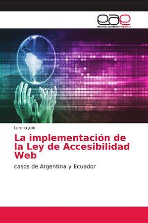 La implementación de la Ley de Accesibilidad Web