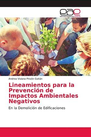 Lineamientos para la Prevención de Impactos Ambientales Nega