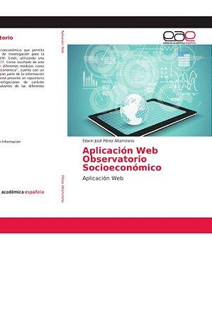 Aplicación Web Observatorio Socioeconómico