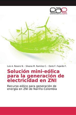 Solución mini-eólica para la generación de electricidad en Z