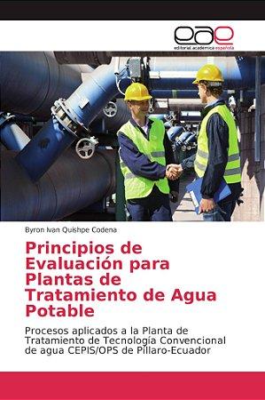 Principios de Evaluación para Plantas de Tratamiento de Agua