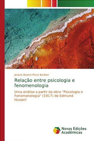 Relação entre psicologia e fenomenologia