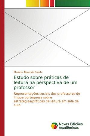 Estudo sobre práticas de leitura na perspectiva de um profes