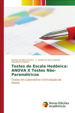 Testes de Escala Hedônica: ANOVA X Testes Não-Paramétricos