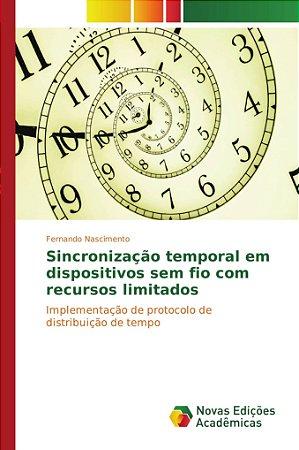 Sincronização temporal em dispositivos sem fio com recursos