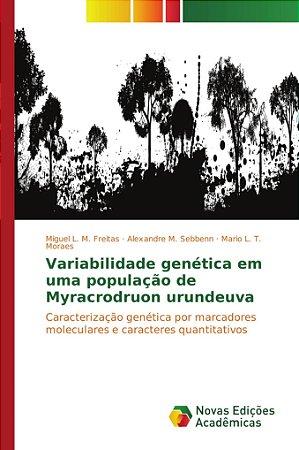 Variabilidade genética em uma população de Myracrodruon urun