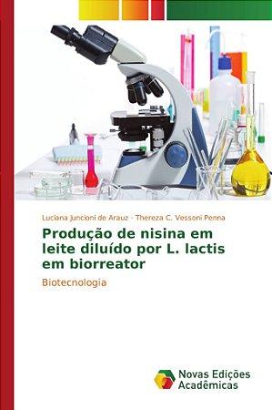 Produção de nisina em leite diluído por L. lactis em biorrea