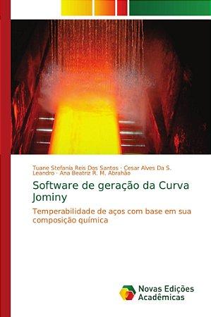 Software de geração da Curva Jominy