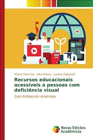 Recursos educacionais acessíveis a pessoas com deficiência v
