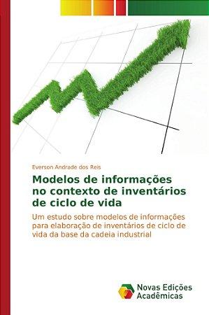 Modelos de informações no contexto de inventários de ciclo d