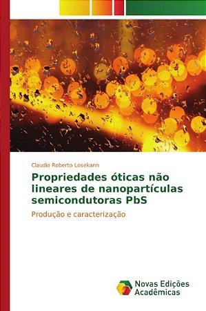 Propriedades óticas não lineares de nanopartículas semicondu