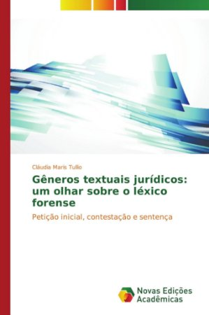 Gêneros textuais jurídicos: um olhar sobre o léxico forense