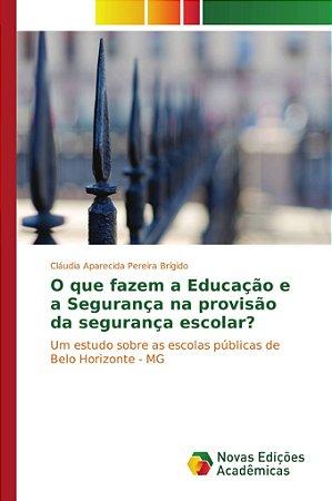 O que fazem a Educação e a Segurança na provisão da seguranç