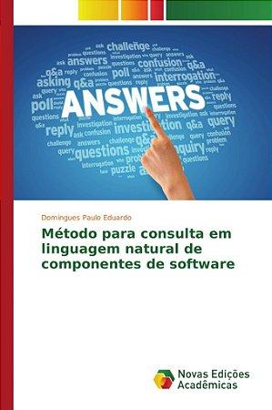 Método para consulta em linguagem natural de componentes de