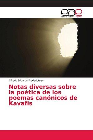 Notas diversas sobre la poética de los poemas canónicos de K