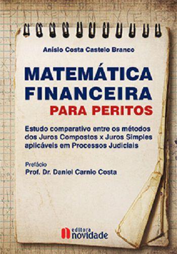 MATEMÁTICA FINANCEIRA PARA PERITOS