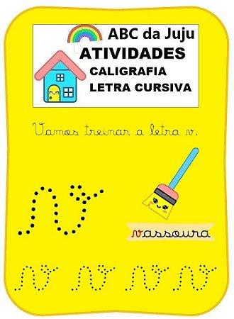 Caligrafia Letra Cursiva