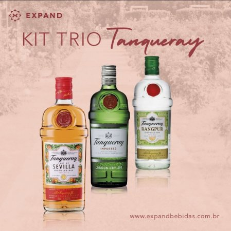 KIT TRIO TANQUERAY EXPAND