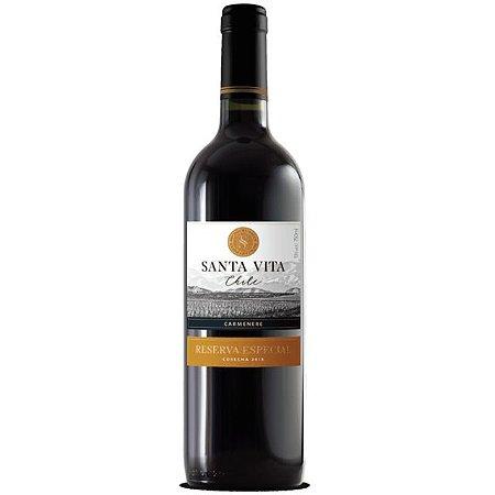 Vinho Chileno Santa Vita Reservado - Carmenere