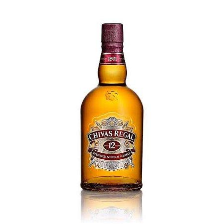 Whisky Escocês Blend 12 Anos Litro Chivas Regal - 1L