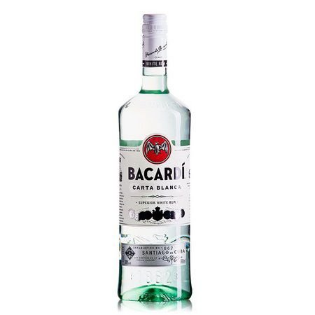 Rum Carta Blanca 980ml Bacardi