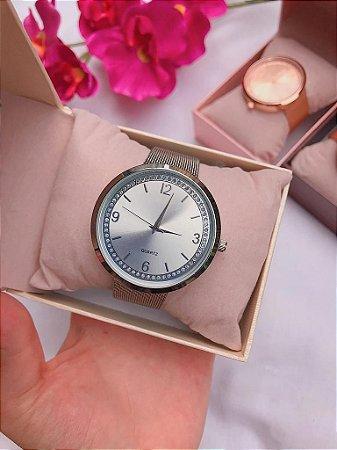 Relógio BLOSSOM - Prata - Ref.: M2