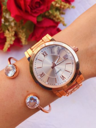 Relógio Mariana - Rose - Ref.: M2