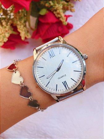 Relógio Isabella - Prata - Ref.: M1