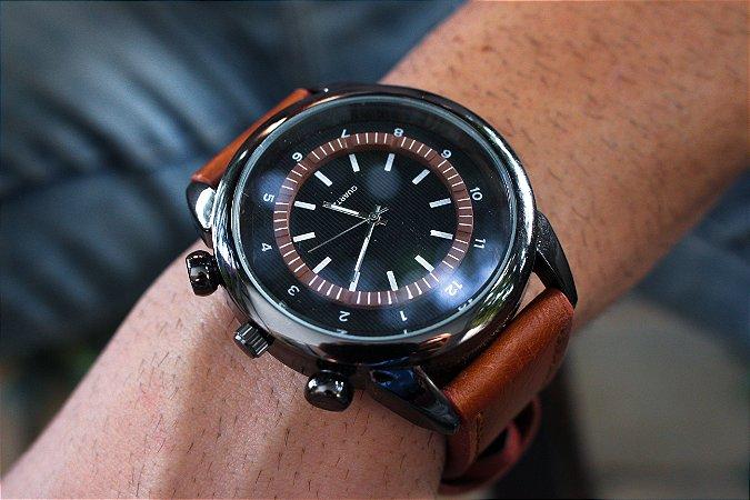 Relógio LeClair - Preto/Marrom - Ref.: M3