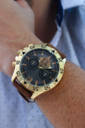 Relógio Trucker - Dourado - Ref.: M3