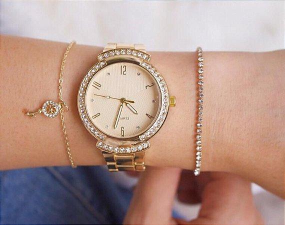 Relógio Susie - Dourado - Ref.: M3