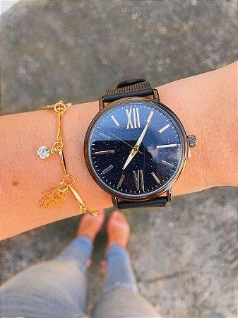 Relógio Galaxy - Preto - Ref.: M1