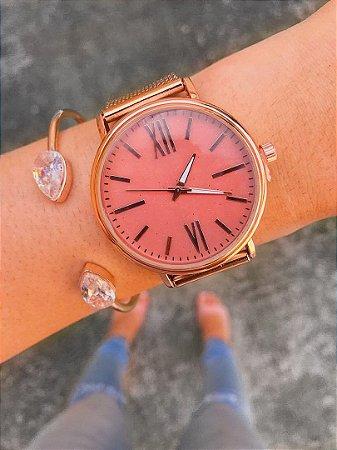 Relógio Galaxy - Rose - Ref.: M1