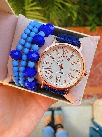 Relógio Lala - Azul - Ref.: M2