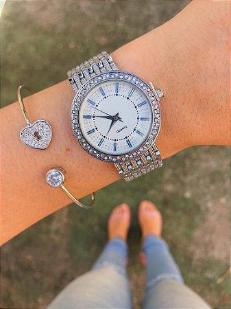 Relógio New Petit - Prata - Ref.: M2