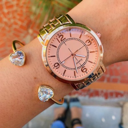 Relógio Barbie - Rose - Ref.: M2