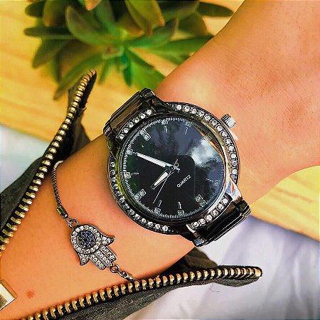 Relógio Ashley - Preto - Ref.: M2