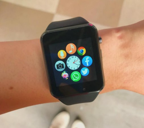 Smart Watch - GT08 - Preto - Android