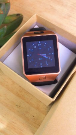 Smart Watch - W90 - Rose - Android