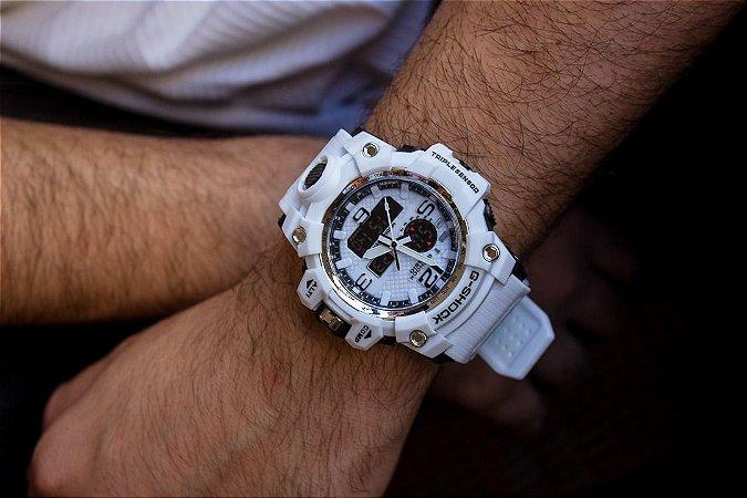 Relógio Casio G-Shock - Branco - Primeira Linha