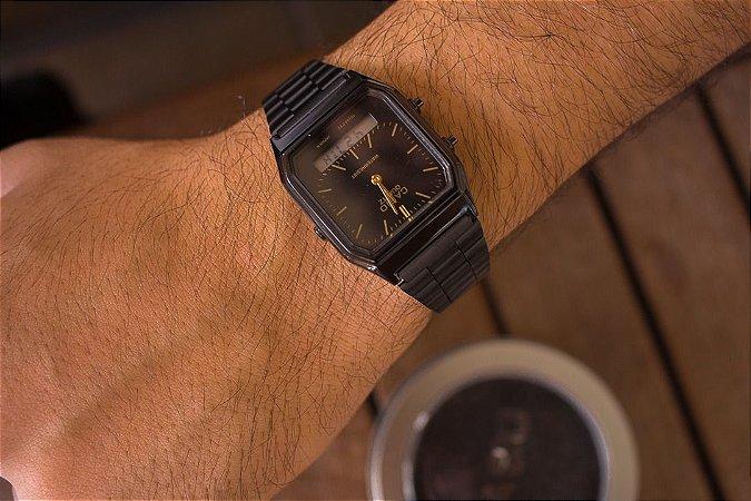 Relógio Casio Vintage - Preto - Primeira Linha